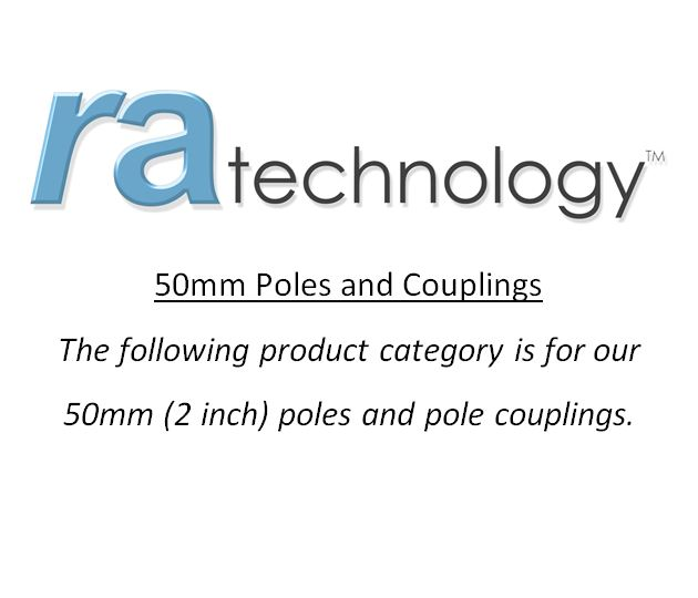 RA 50mm Poles and Couplings