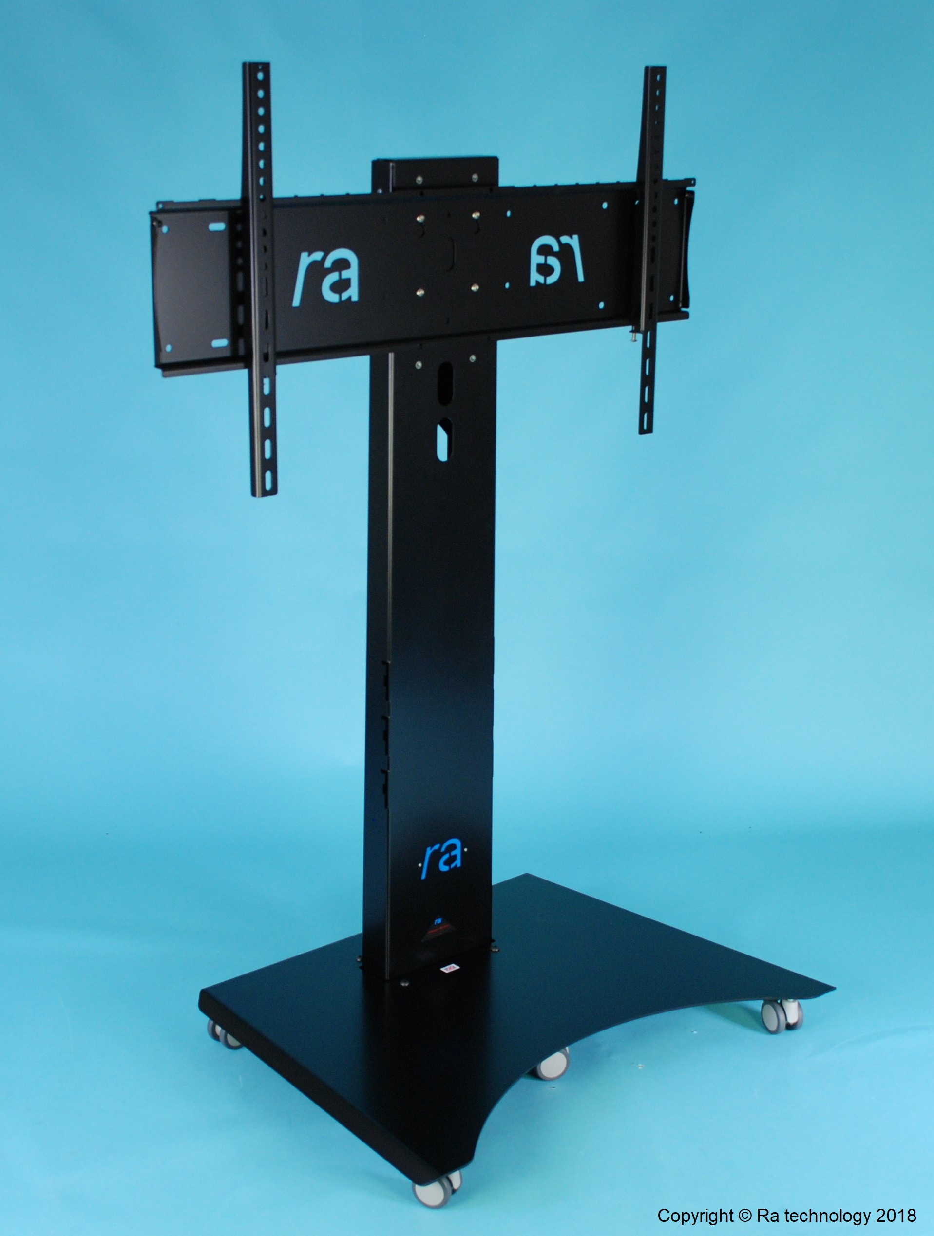RA Atlas Manta-4. Fixed Height Trolley / Stand. Screens upto 90""