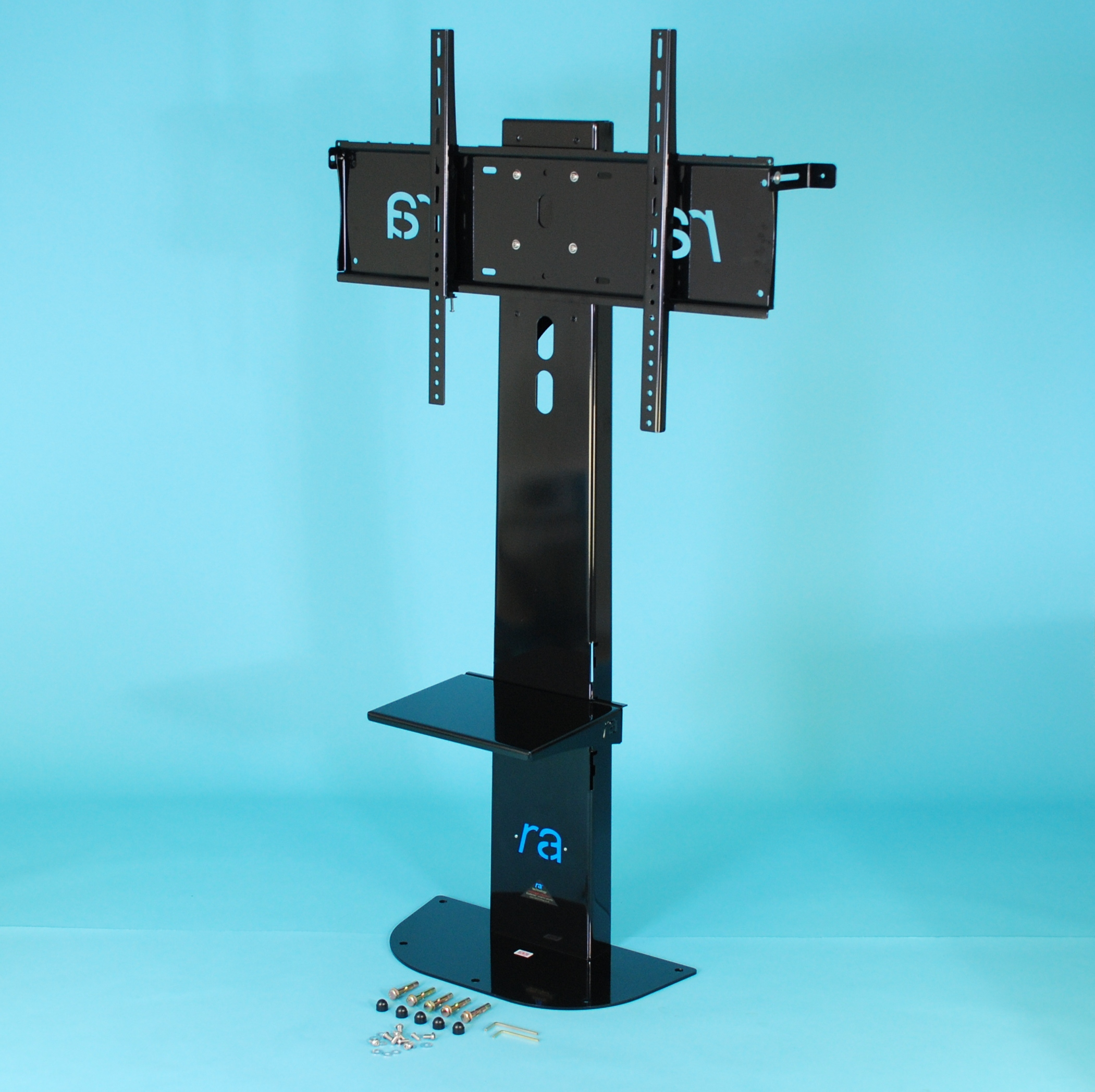 RA Atlas Flat Screen Fixed Floor Stand for 55 - 65 inch screens
