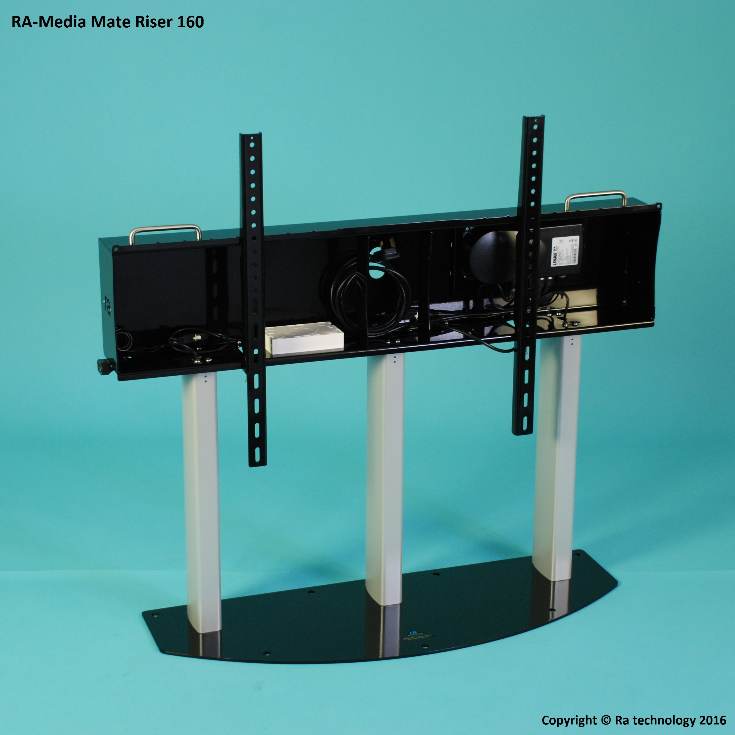 RA Media Mate Riser 160. Large Screens Up To 160kg