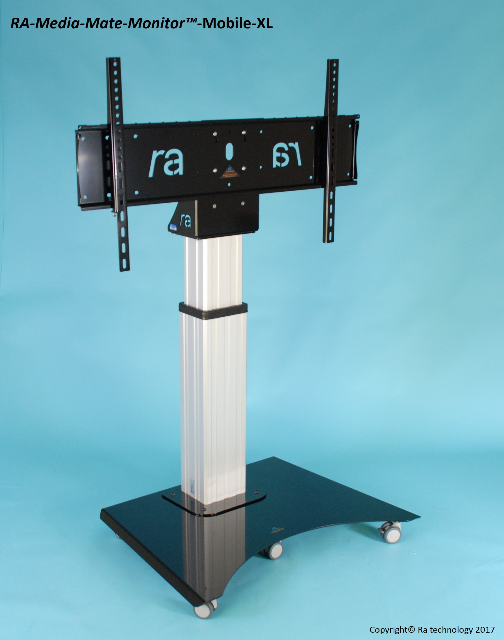 RA Media Mate Monitor Mobile XL. Electric Height Adj Trolley