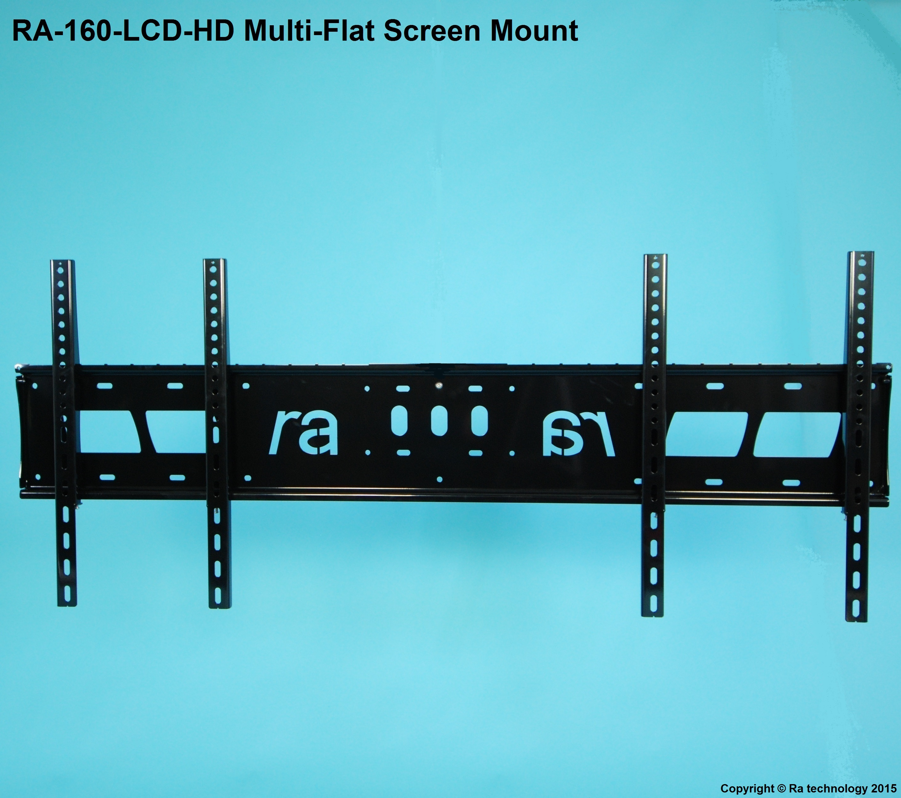 RA-160-LCD-HD. Extra Long Multi Flat Screen Wall Mount