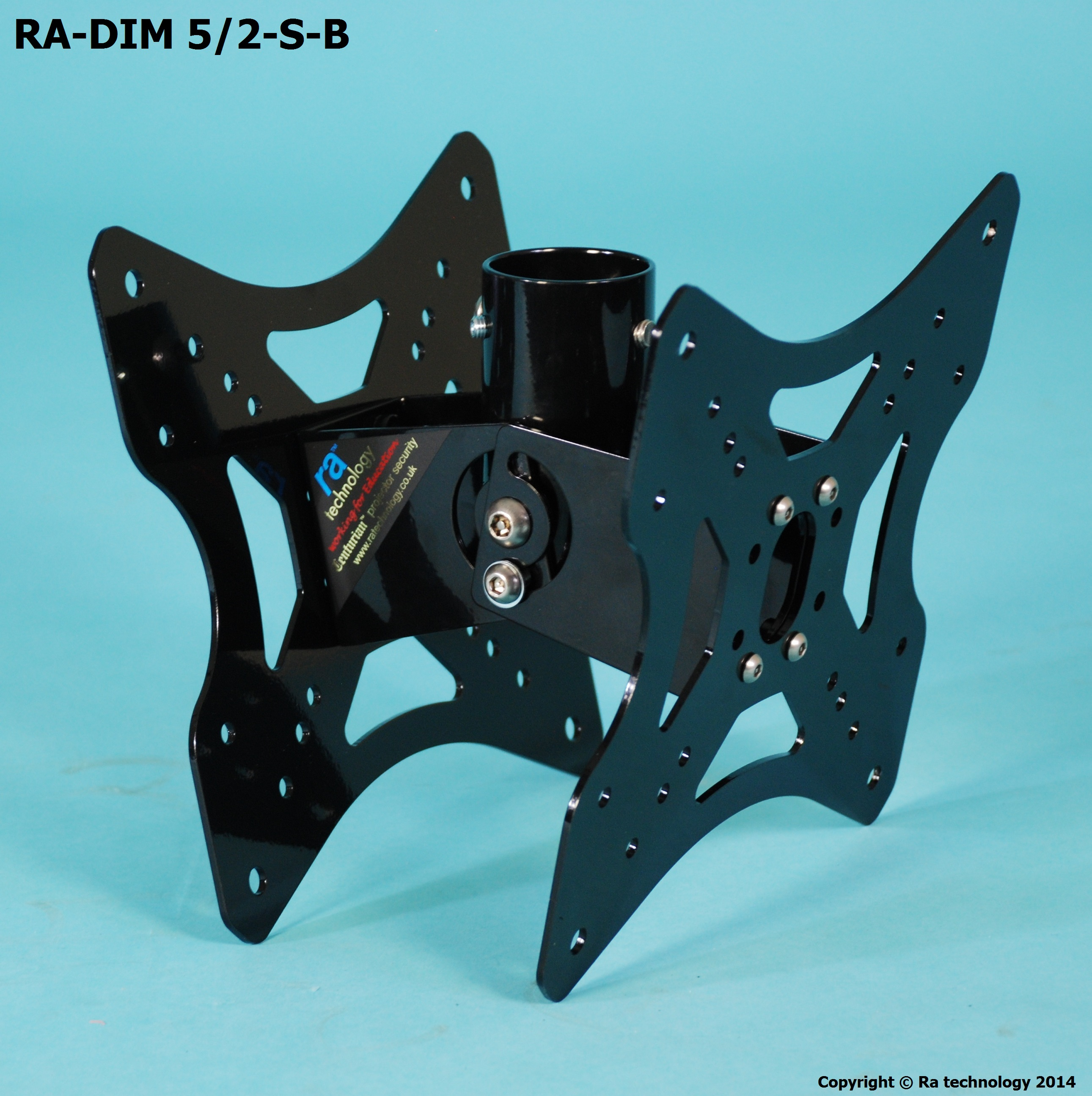 RA Dim five VESA Mount 400x400 S/Pole Back to Back