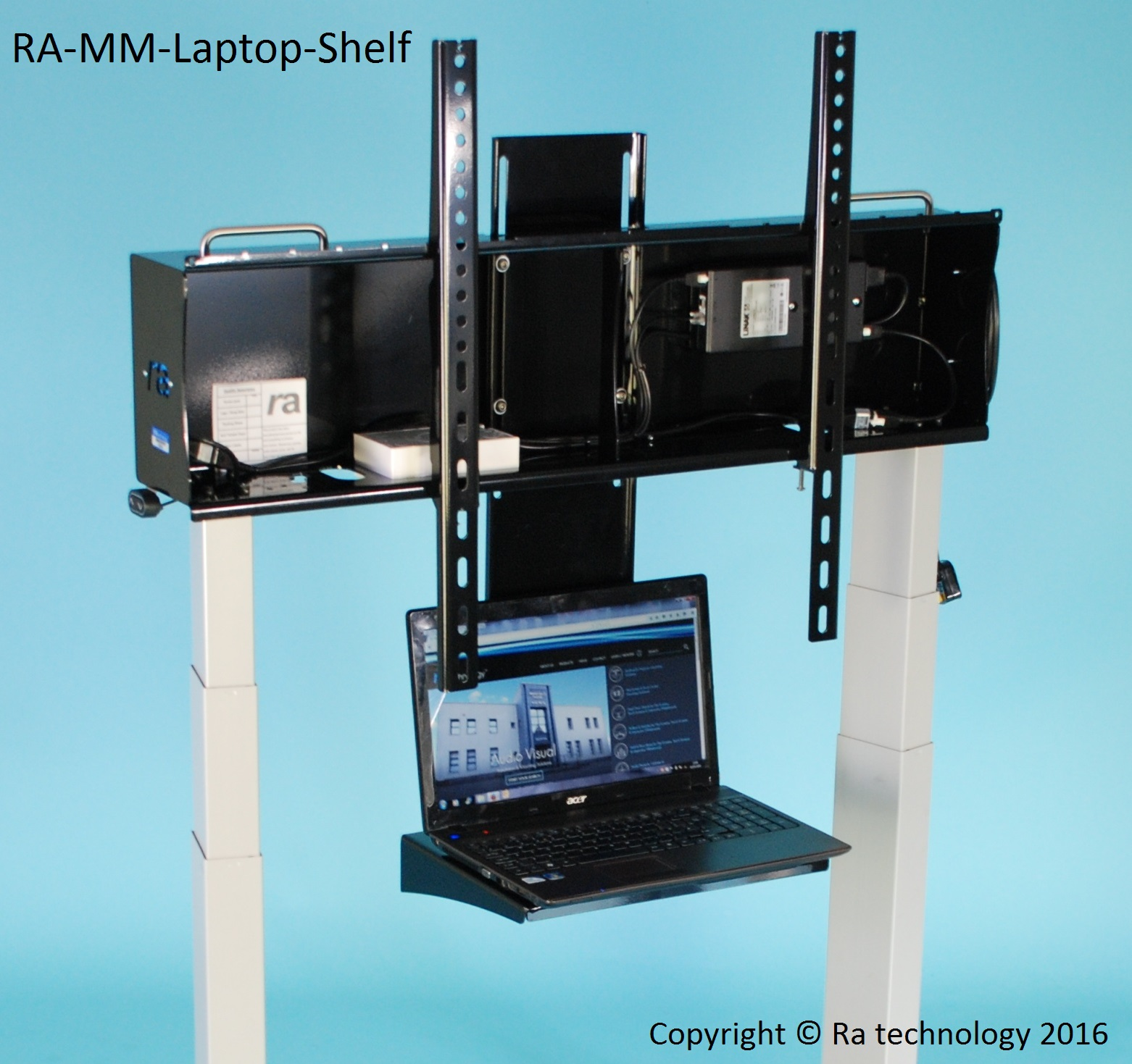 RA Media Mate Adjustable Laptop Shelf