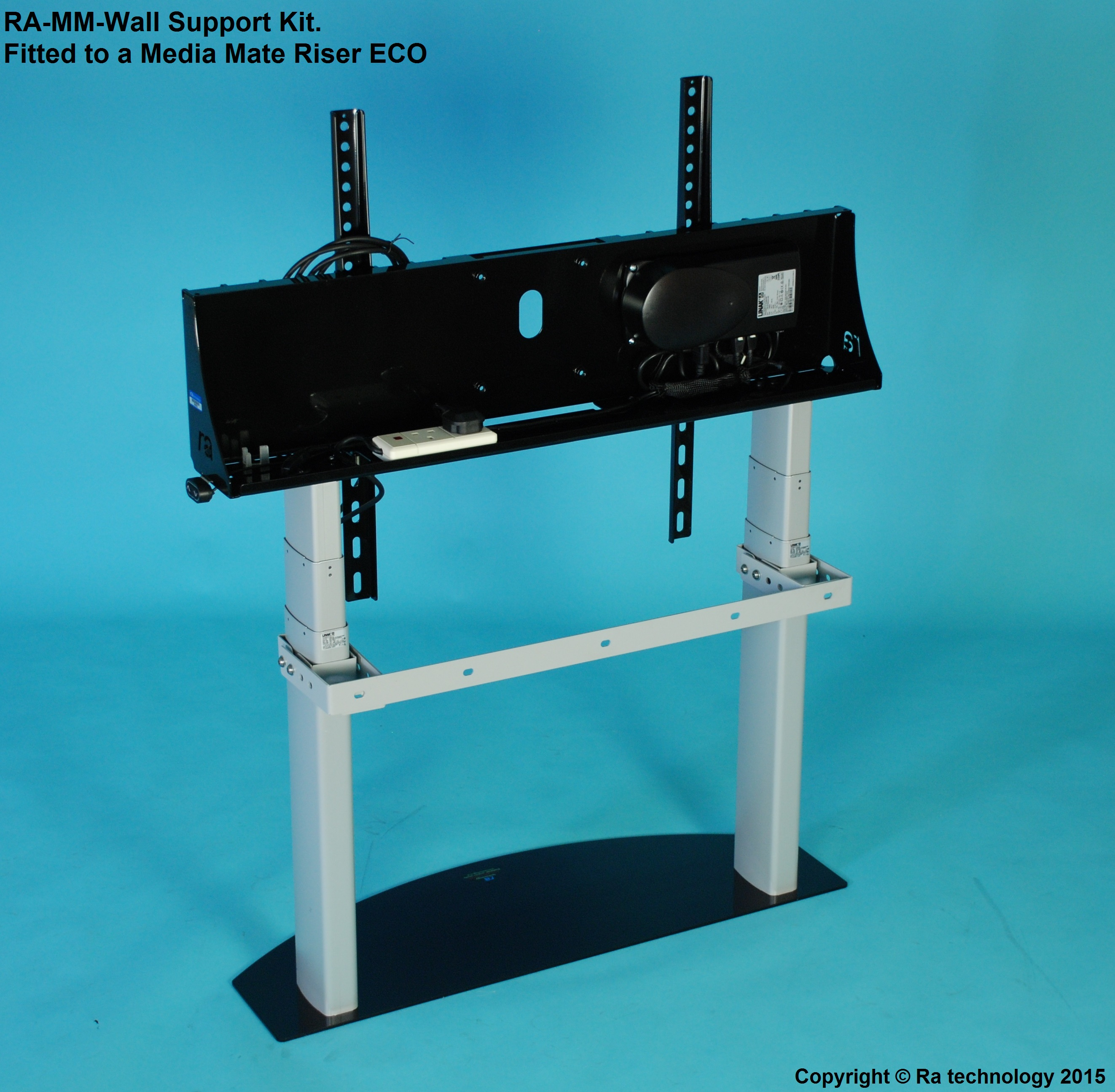 RA Media Mate ECO and PRO Riser Wall Support Kit. Factory Fitted