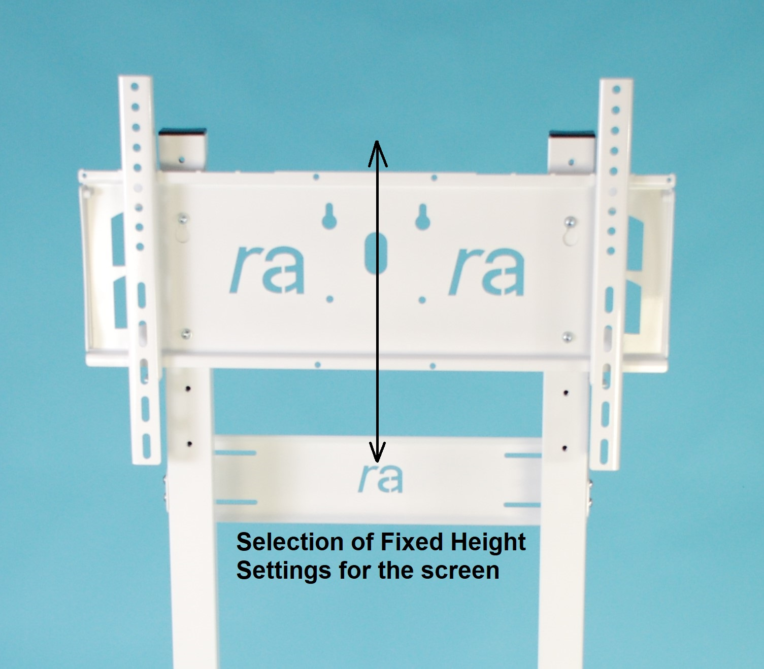 RA-Studfix-V1 Wall to Floor Mount for Flat Screens upto 65kg