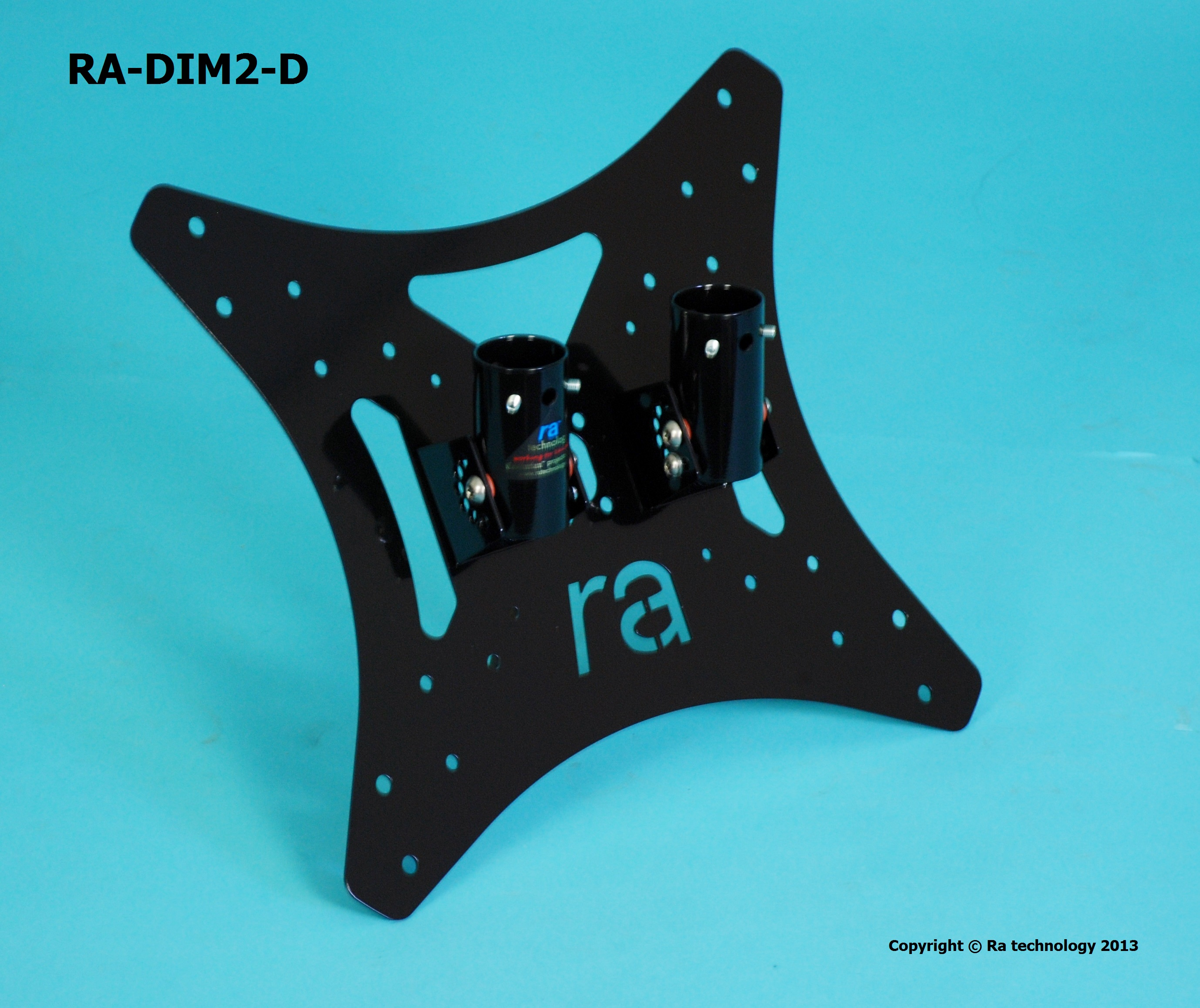 RA Dimension five VESA Mount 400x400 Double Pole