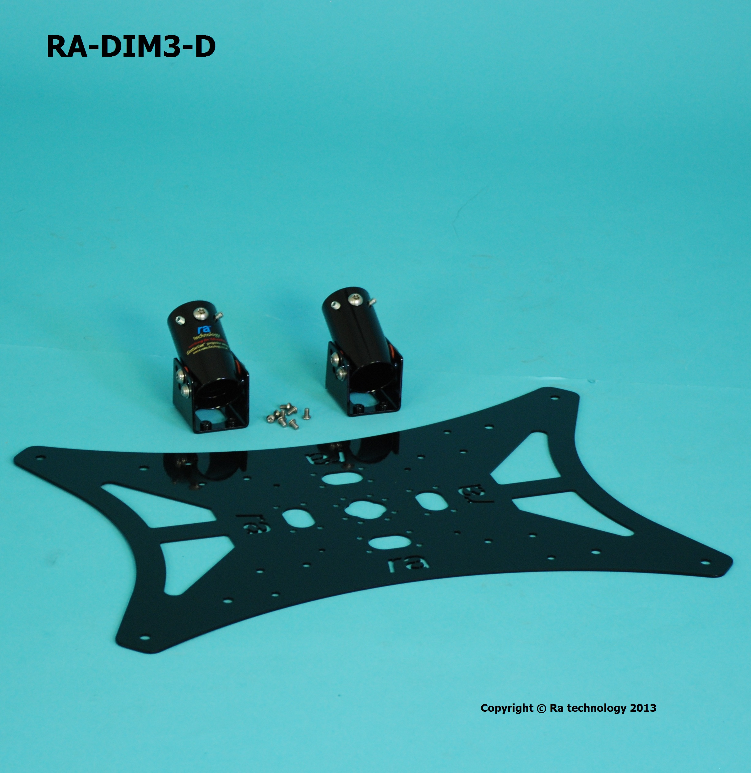 RA Dimension five VESA Mount 600x400 Double Pole