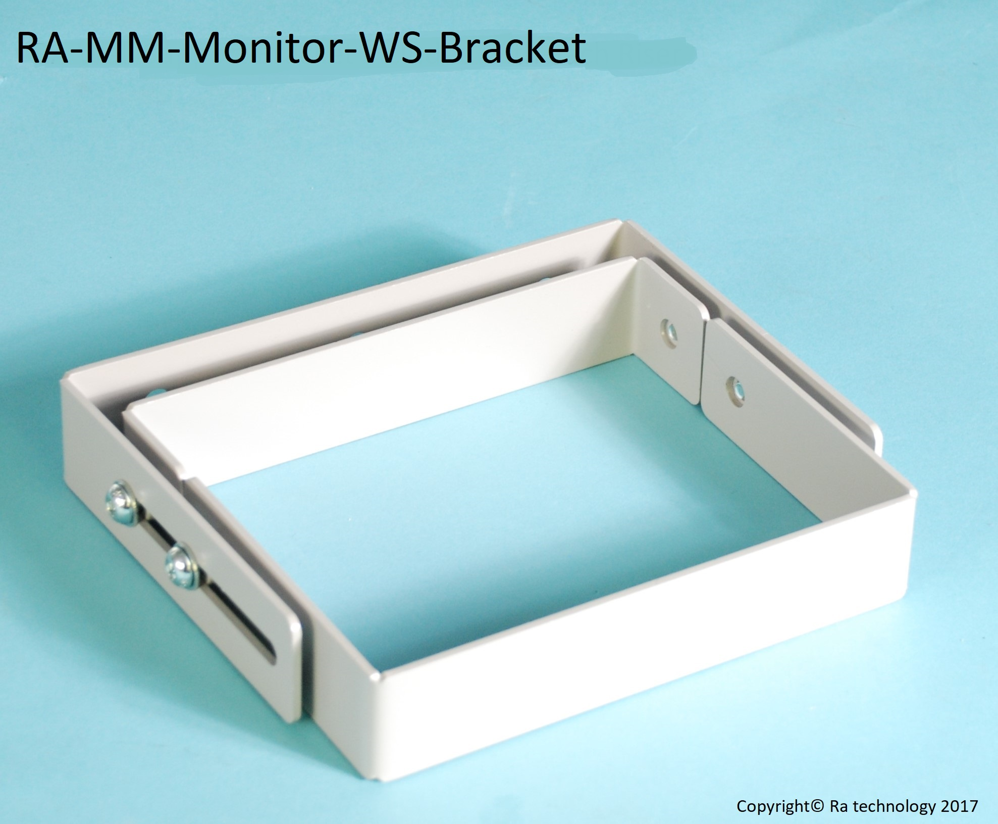 RA Media Mate Monitor Riser Additional Wall Support Bracket