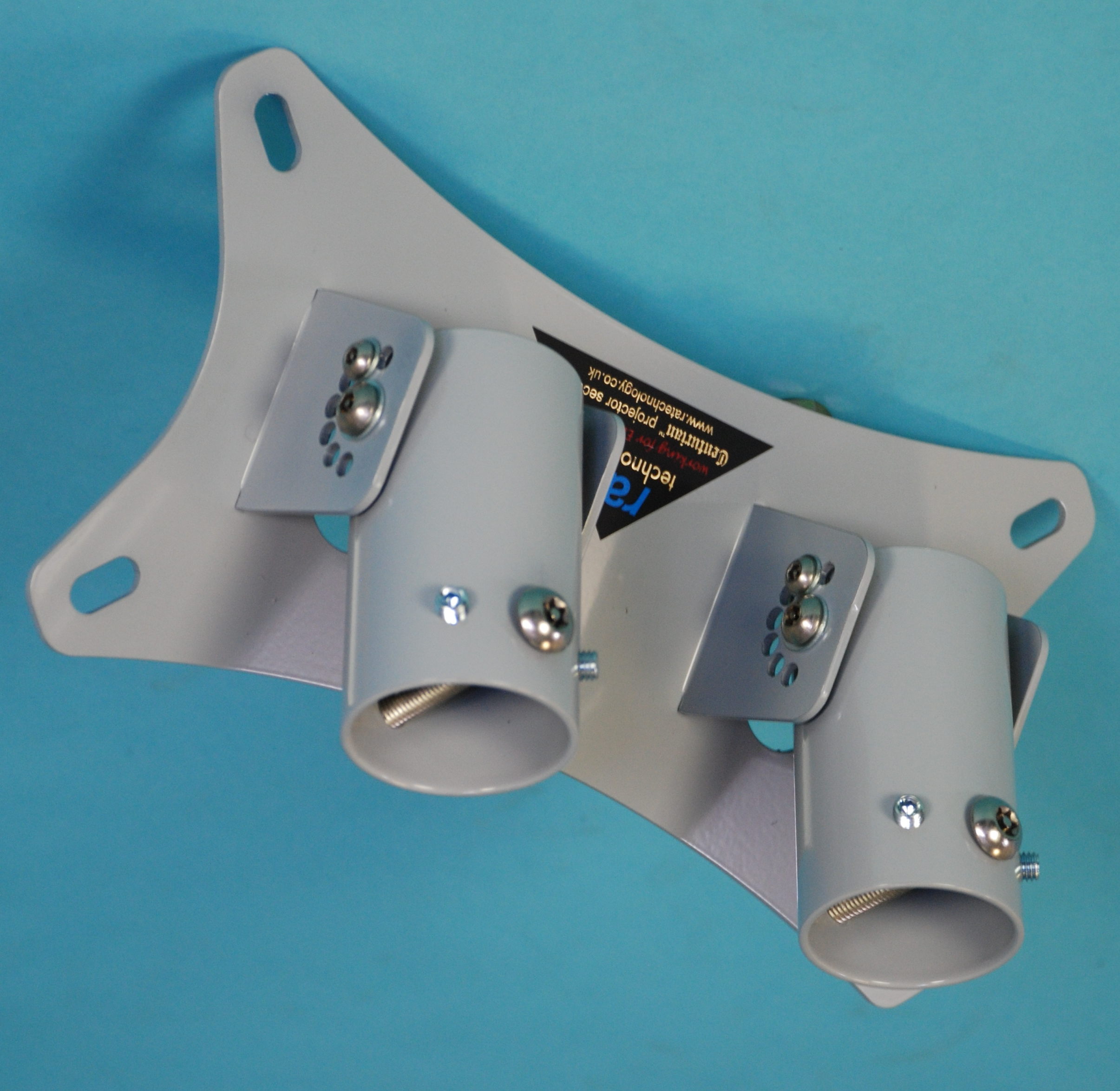 RA1a-D Double Articulated 50mm Sleeve Ceiling Mount