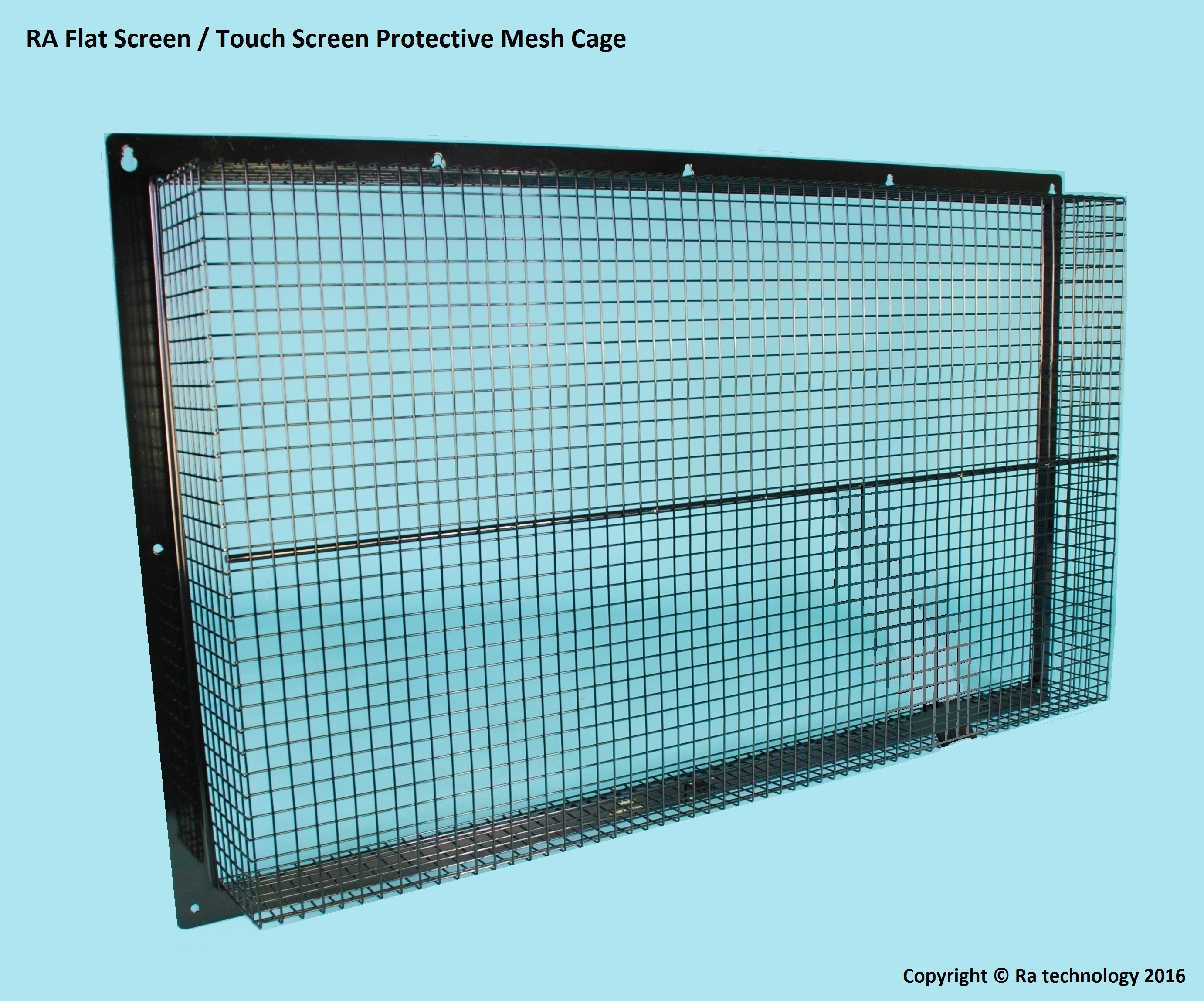 RA Mesh Cage For Wall Mounted Flat Screens