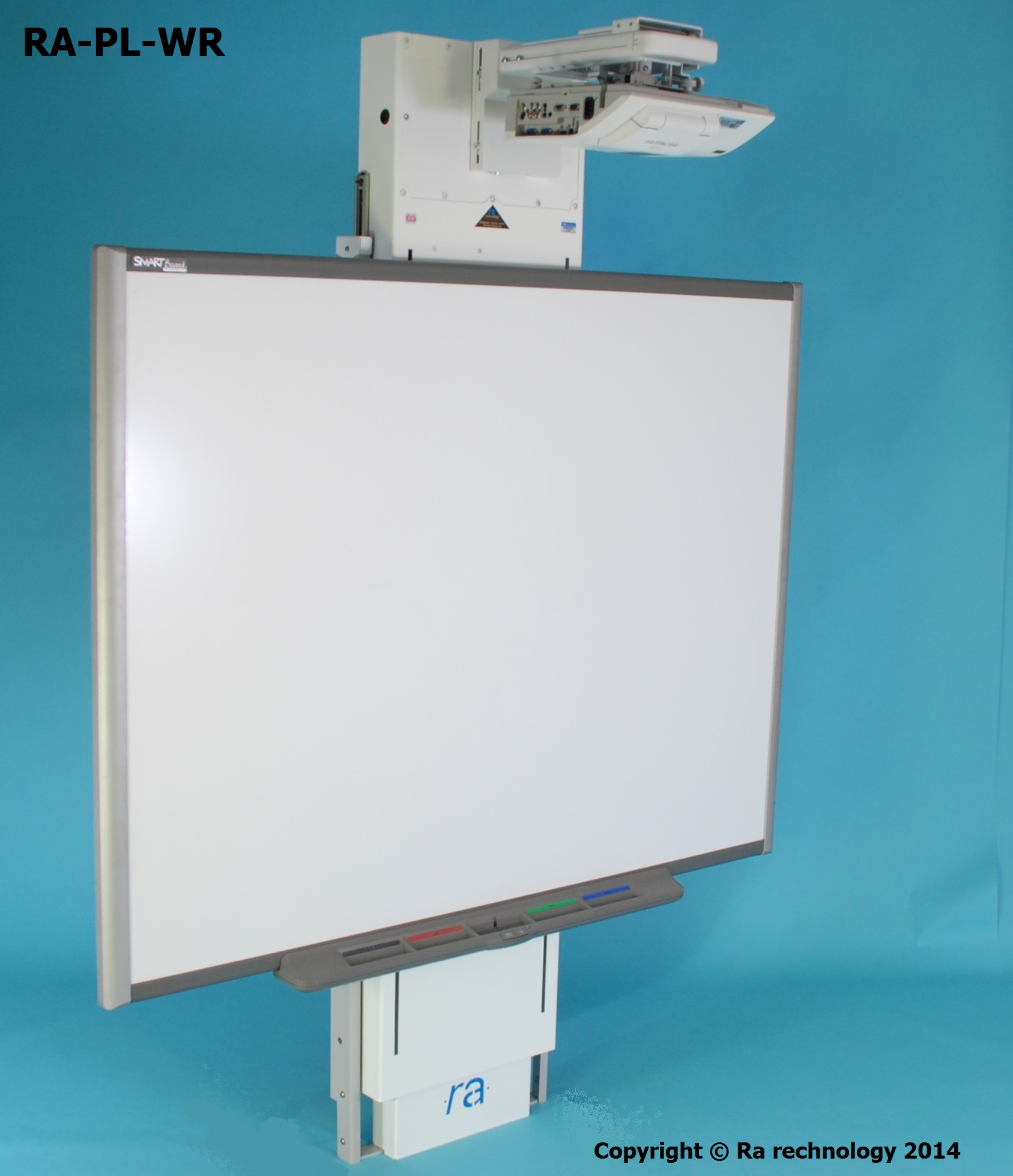 RA Power Lift Wall Riser for UST Projectors & IWB.