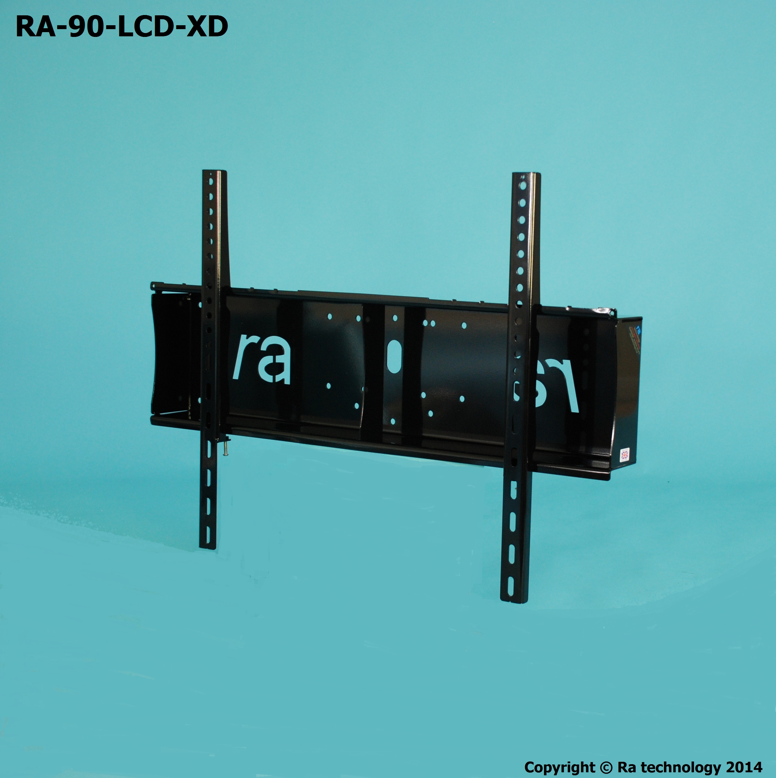 RA-90-LCD-XD. Fixed Wall Mount With Container / Storage
