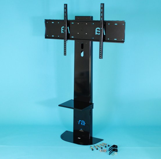 RA Atlas4 Floor Stand. Screens upto 90 inch and 140kg